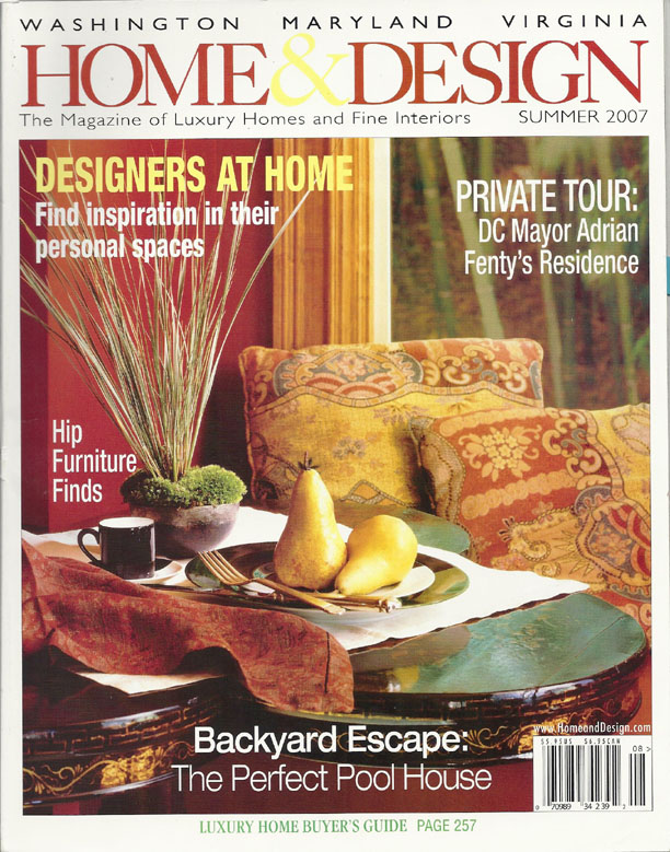 Wood Island Countertop Article In Home Design Magazine
