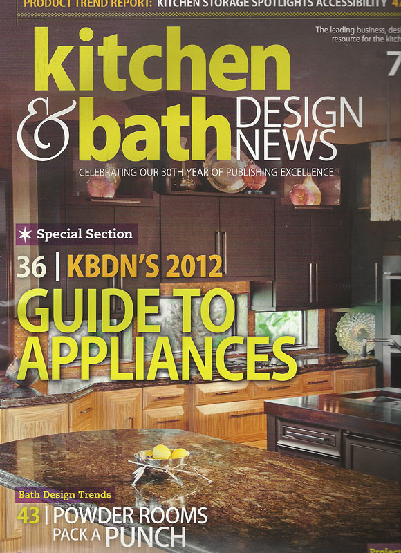 art of kitchen and bath design magazine. zebrawood island