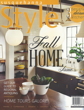 Walnut Countertop in Susquehanna Style September 2014