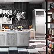 This Industrial Style Kitchen was Designed by Jon De La Cruz in California