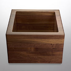 Grothouse Lumber creates custom wood sinks
