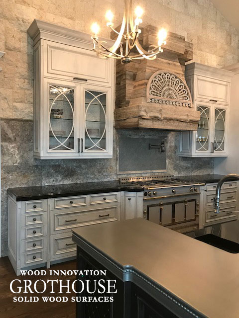 Custom Metal Finished Kitchen Bar Top with a Waterproof Finish in Denver, Colorado