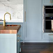 Random Mix Kensington Butcher Block in This Old House® Cape Ann Project