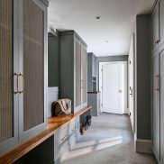 Kensington Mudroom Bench Top in This Old House® Cape Ann Project