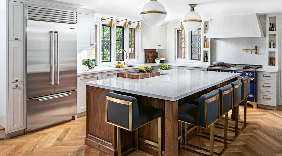 Grothouse in Gold Award Winning Kitchen Design