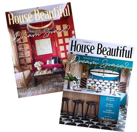 House Beautiful November 2020 features the Whole Home Concept House in Franktown, Colorado