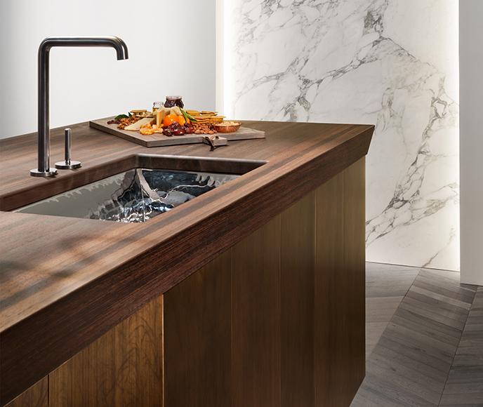 Custom Wood Counters for Kitchens by Grothouse