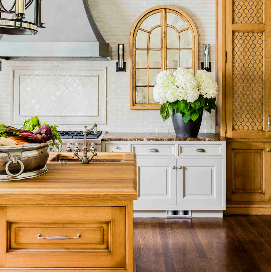 Custom Solid Wood Kitchen Island Countertops by Grothouse