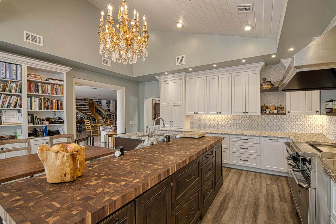 Custom Butcher Block Countertops for Kitchen Islands