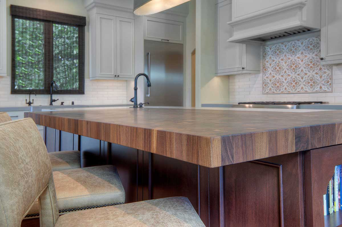Custom Wood Butcher Block Kitchen Tables