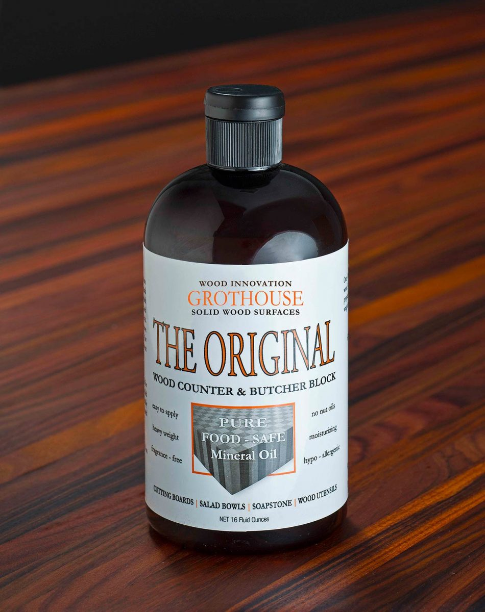 The Original Butcher Block Oil Finish by Grothouse