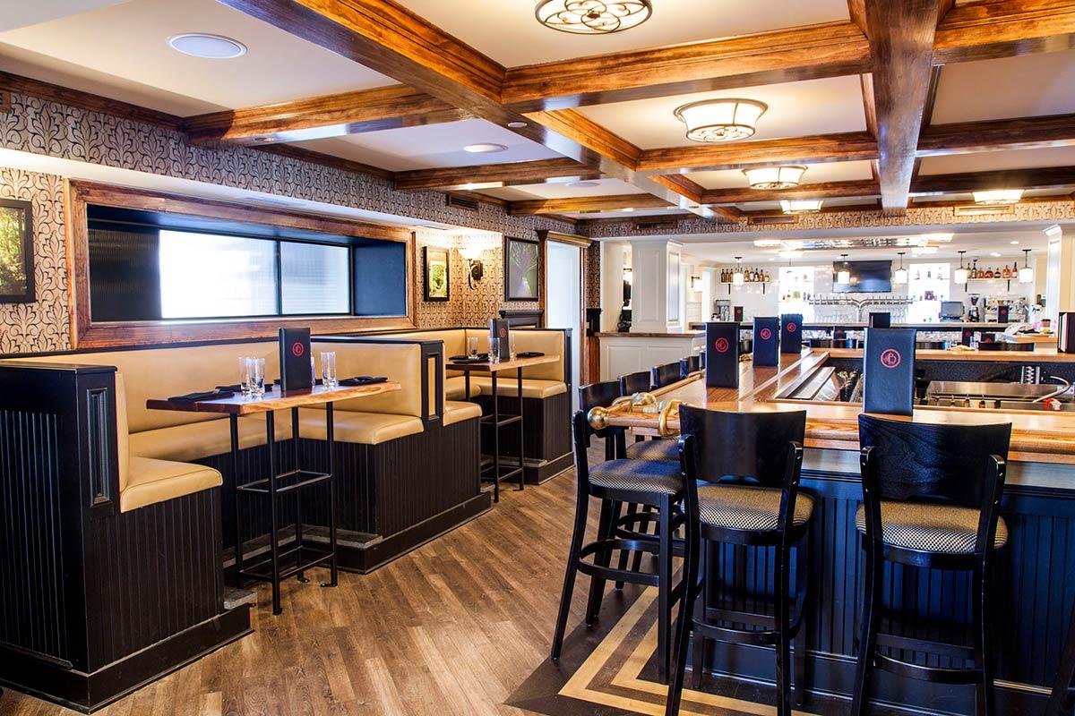 Custom Crafted Restaurant Wood Bar Tops