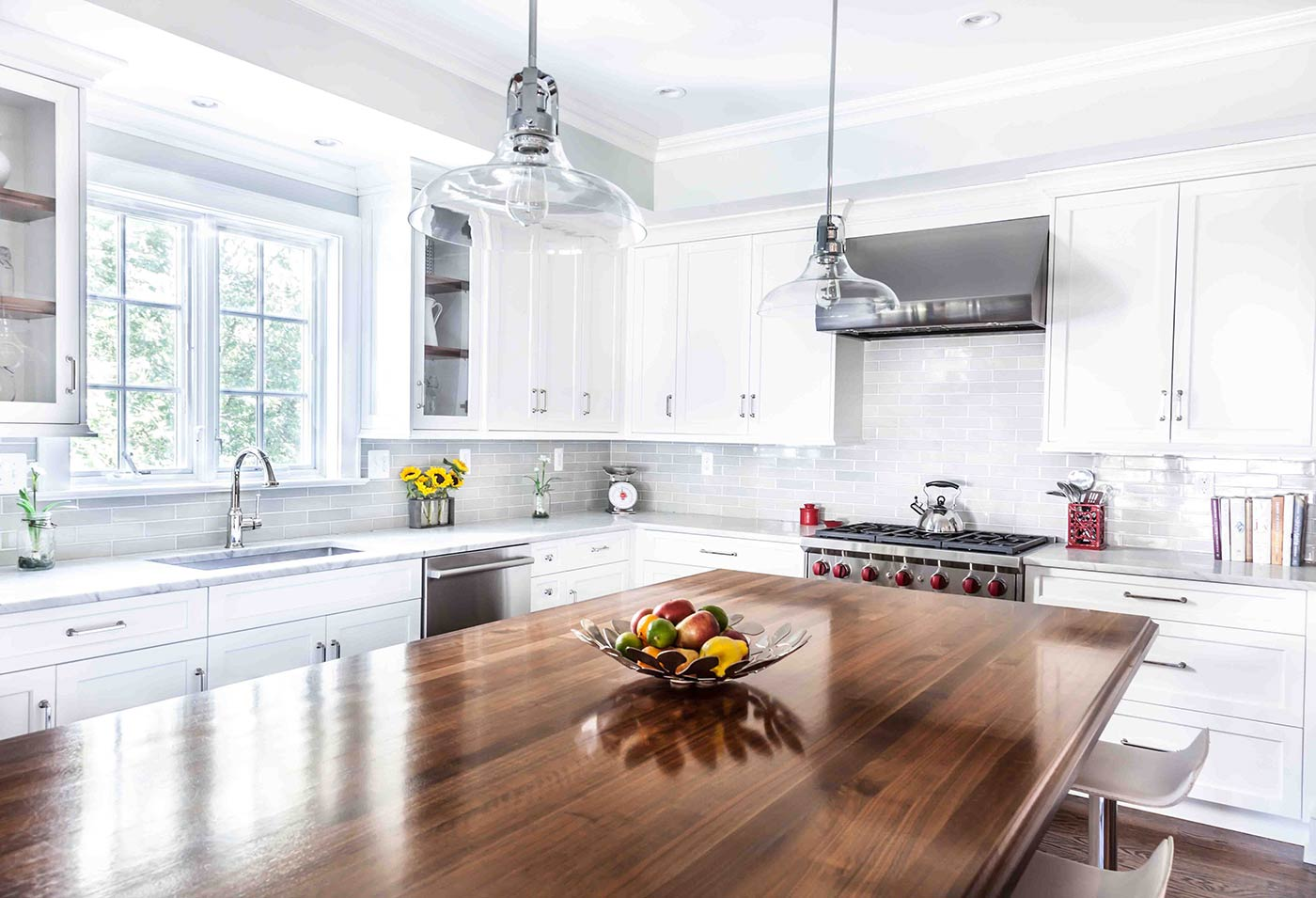 Wood Finish for Custom Wood Countertops in Kitchens and Bathrooms