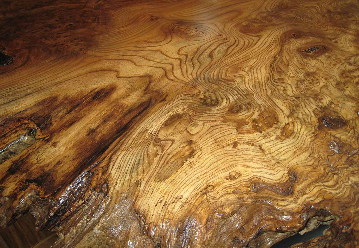 Waterproof Finished Live Edge Wood Countertops