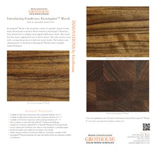 Grothouse Kensington Wood Countertops Postcard