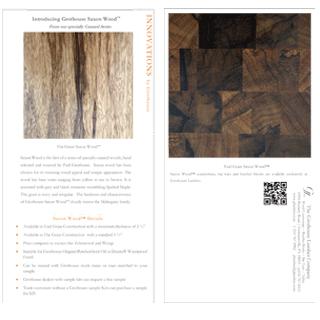 Grothouse Saxon Wood Postcard