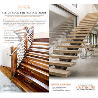 Grothouse Wood Stair Treads Postcard